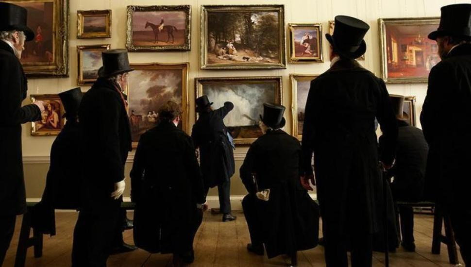 Mr Turner Recreating theRoyal Academy Show of 1832