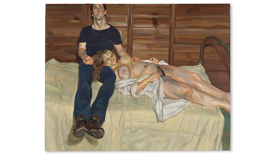 Sitting for Lucian Freud