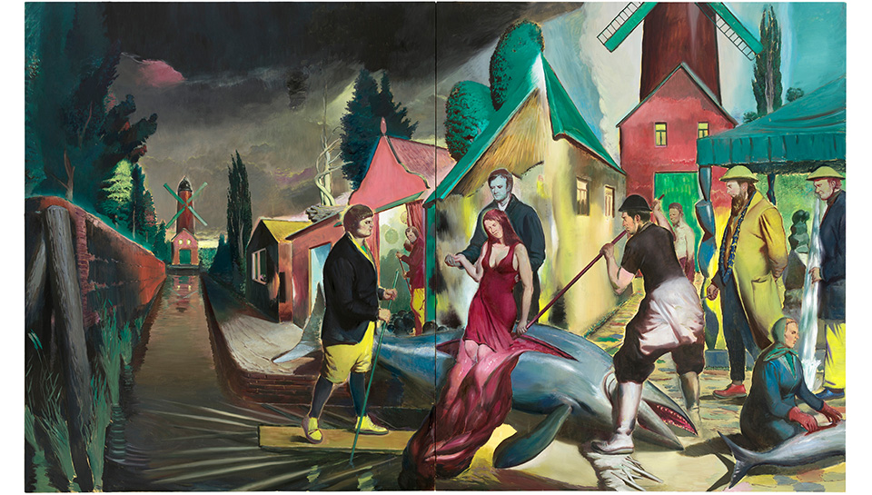 The Wall and The Well — in conversation with Neo Rauch