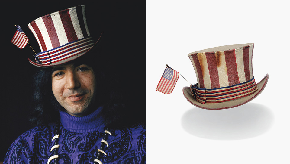 Jerry Garcia and the story of the 'Captain Trips' hat