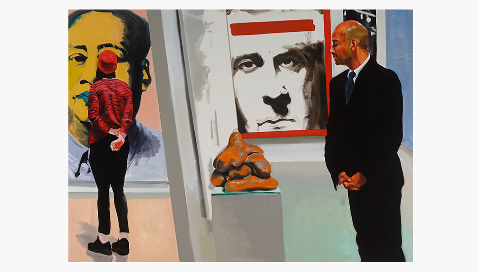 Does Eric Fischl really loathe art fairs