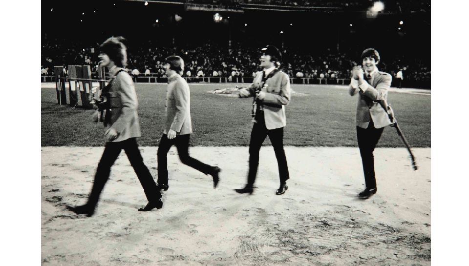 Backstage with the Beatles