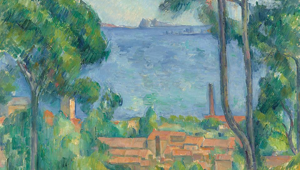 Paul Cézannes Vue sur L'Estaque et le Château d'If