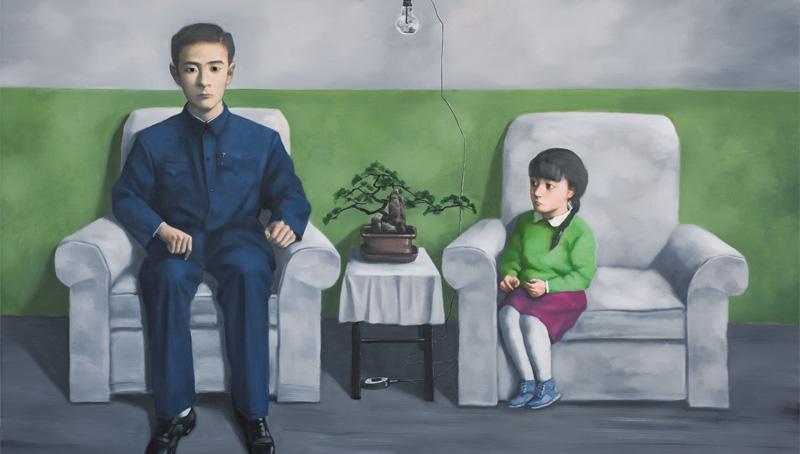 Zhang Xiaogang Passive resistance