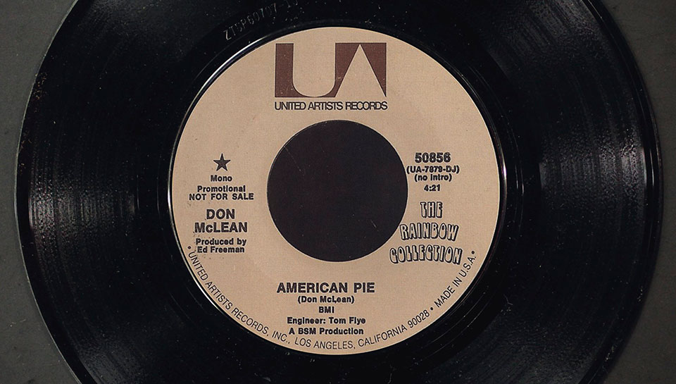 A long, long time ago The meaning of American Pie