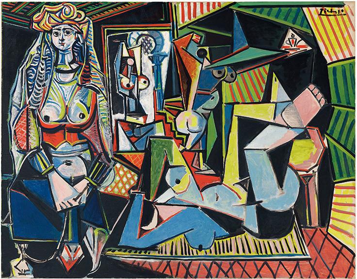 """Αποτέλεσμα εικόνας για Les Femmes d'Alger (""""Version O"""") by Pablo Picasso"""