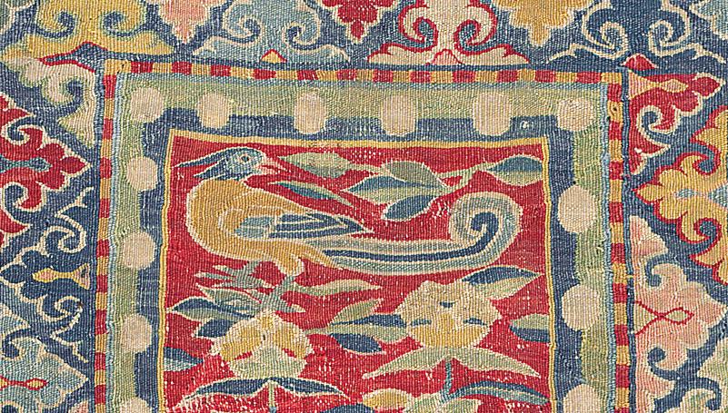 'An extraordinary survivor' A rare carpet from the Mongol Empire