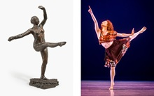 Dancers on Degas auction at Christies