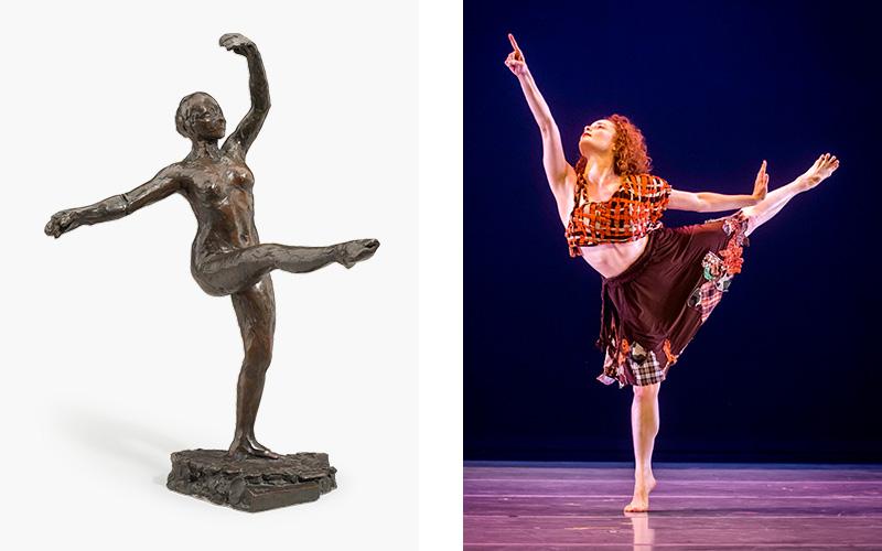 Dancers on Degas