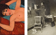 Modigliani: A primer auction at Christies