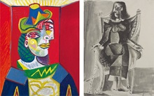 Picasso and Dora auction at Christies
