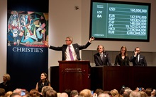 Records tumble in New York auction at Christies