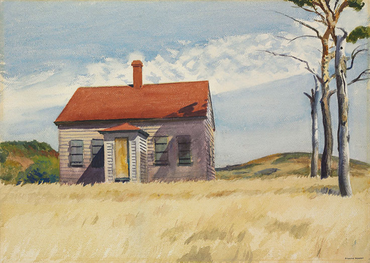 Edward hopper s two puritans personalities that make for House painting images