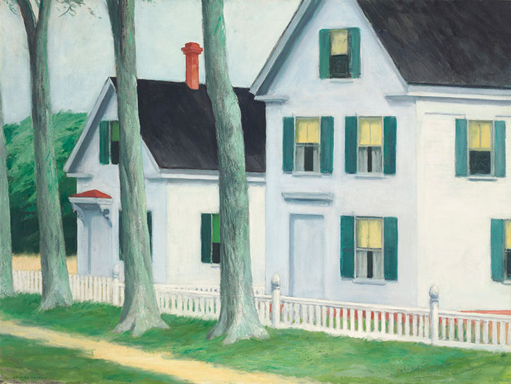 edward hopper�s two puritans �personalities that make