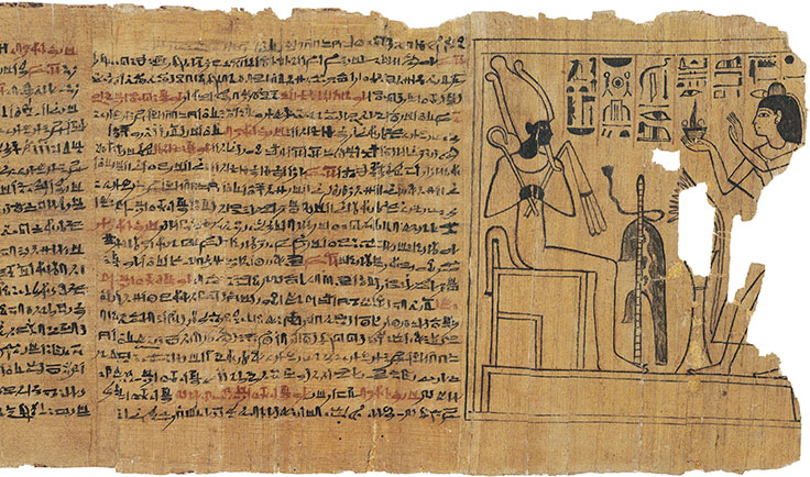 Ancient Egyptian Papyrus Paper Masterpieces from two ...
