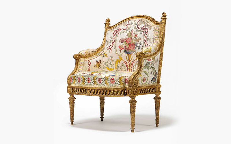 A chair fit for a queen