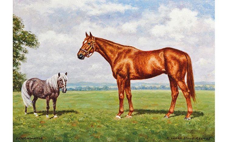A collection of Equine Portrai auction at Christies