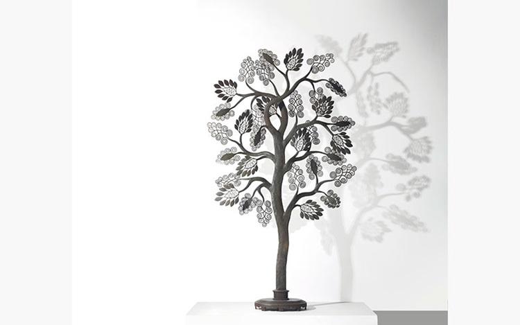 "Edgar Brandt's ""Tree,"" Deconst auction at Christies"