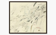 Cy Twombly's Untitled auction at Christies