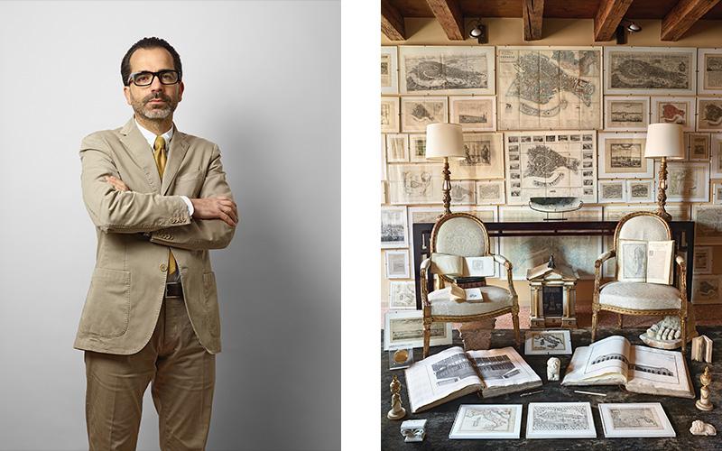 Collectors & their collections Nicolò Favaretto Rubelli