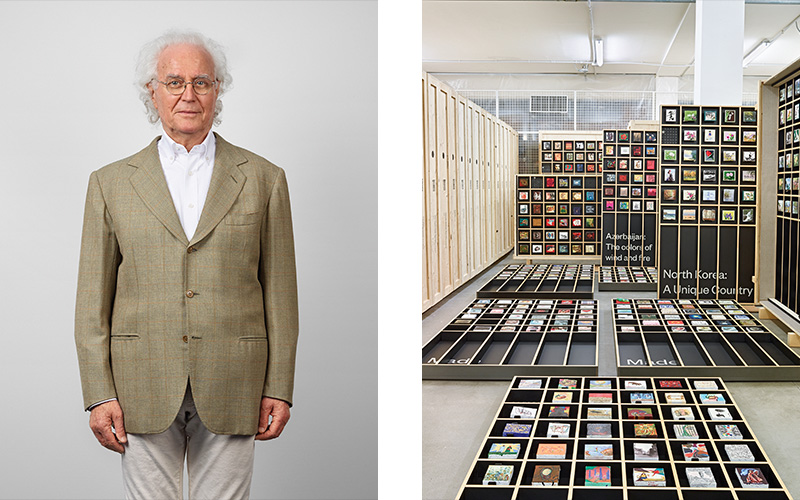 Collectors & their collections Luciano Benetton
