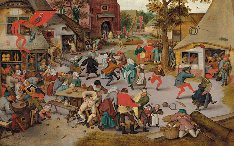 Rare and important works by Bellotto, Guardi and Brueghel the Younger