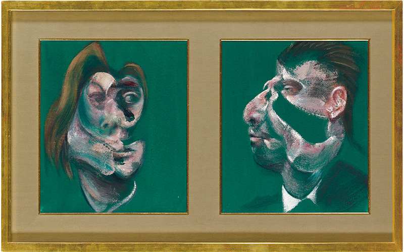 double take francis bacon s very first diptych christie s