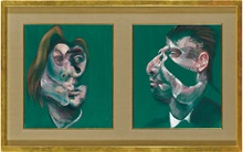 Double take: Francis Bacon's v auction at Christies