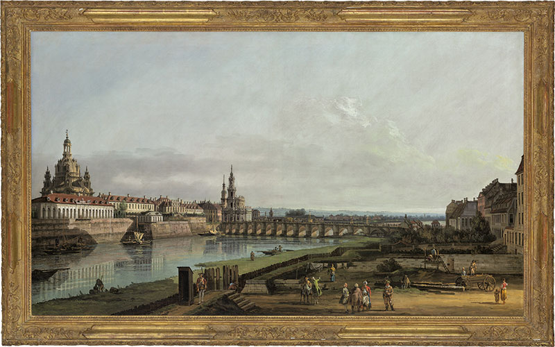 Deconstructed Bellotto's Dresden