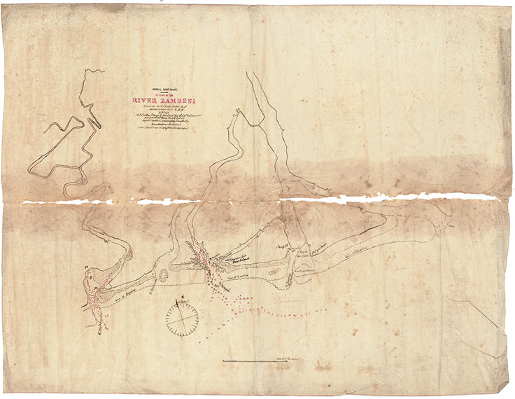 Livingstone S Zambezi Expedition 1858 1864 Francis Skead 1823 1891 Sold For 22 500
