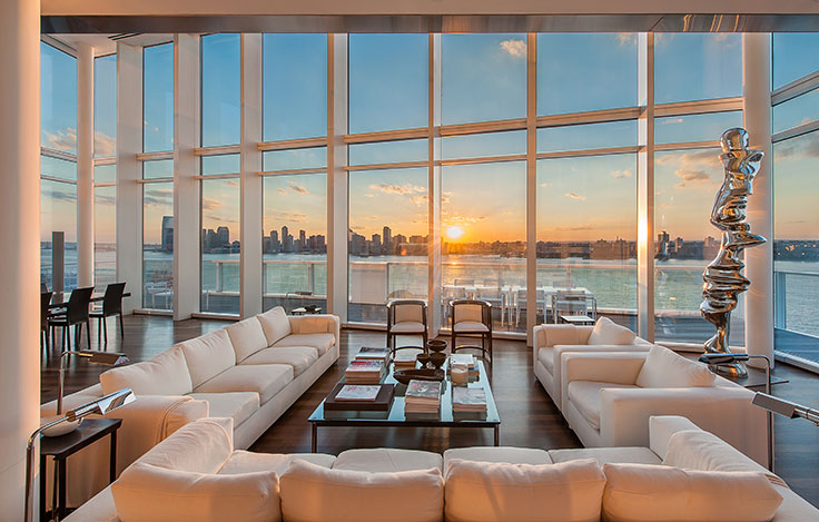 Luxury living view from the top christie 39 s for Luxury new york city real estate