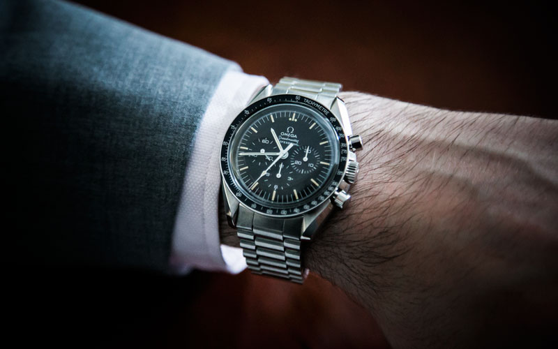 Deconstructed Omega Speedmaster Professional Moonwatch