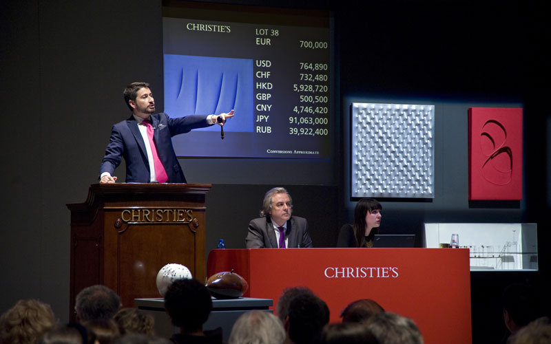 Exceptional Results for Post-War and Contemporary Art Spring 2015 Auctions in Europe