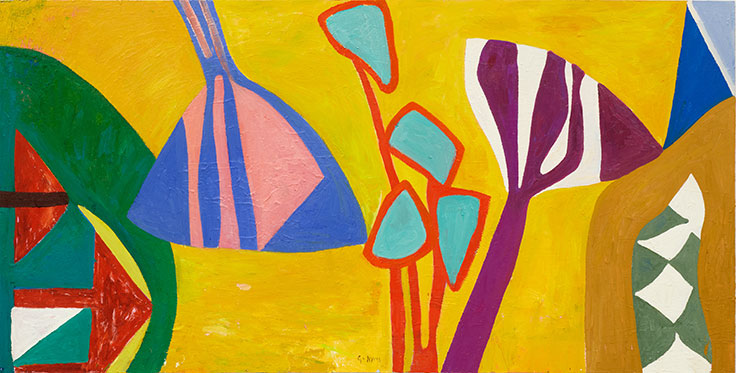 Gillian Ayres Pleasure And Paint Christie S