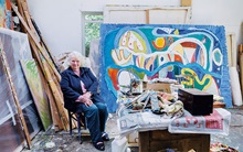 Gillian Ayres: Pleasure and pa auction at Christies