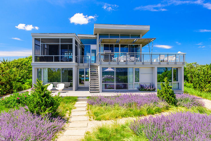 sited high on the dunes in the exclusive summer resort hamlet of sagaponack this oceanfront retreat is the quintessential hamptons beach house - Breathtaking Beach Houses In New York