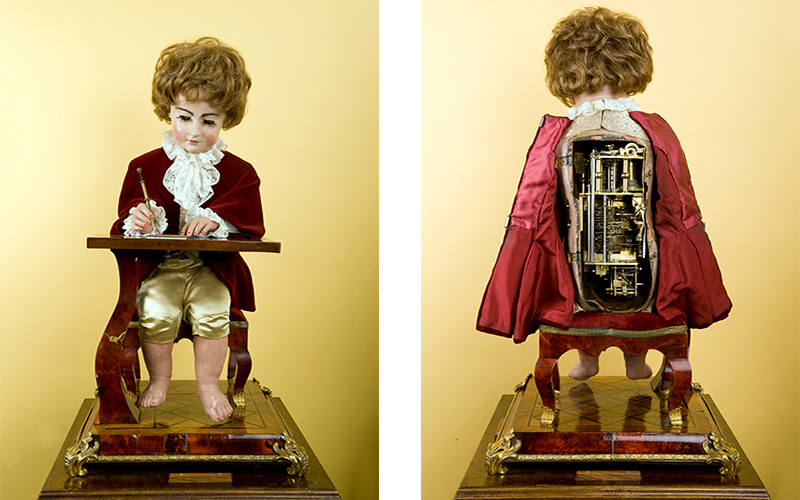 Mechanical miracles The rise of the automaton