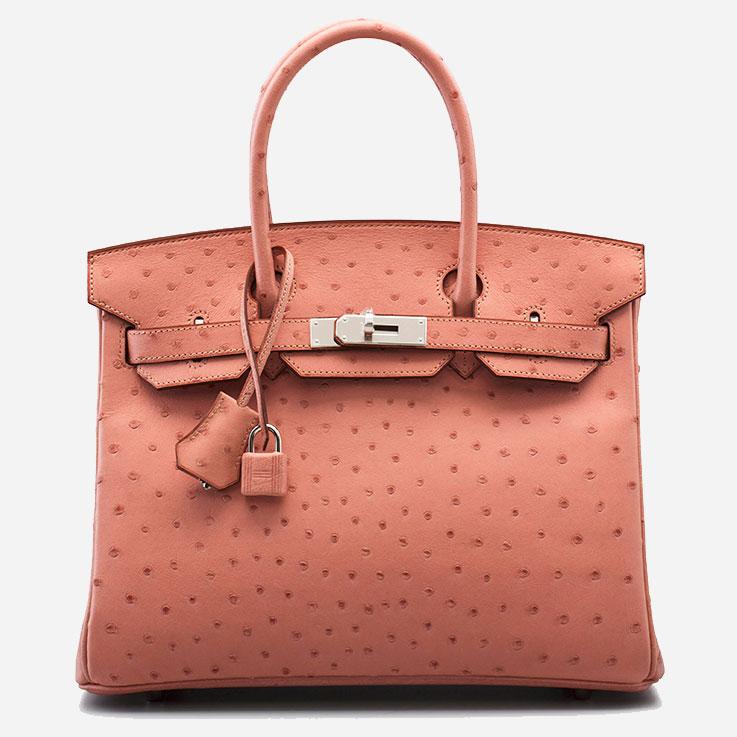 Ostrich Birkin Bags Occupy A Unique E In The Hermès Aficionado S Collection Most Delicate Of All Exotic Birkins Bag Is For
