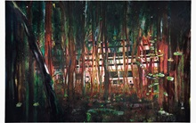 Peter Doig's Cabin Essence to  auction at Christies