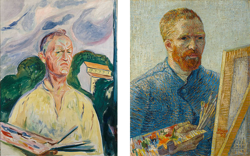 Munch and Van Gogh 'It seemed like a wild idea'