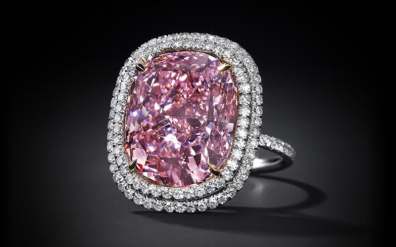 Record-breaking pink diamond s