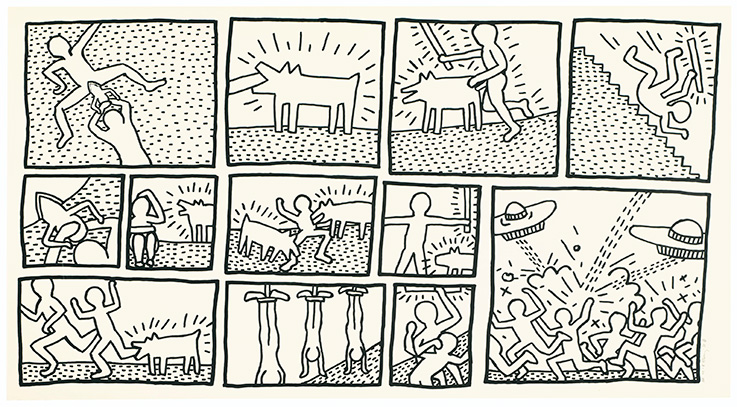 Keith haring the blueprint drawings deconstructed christies keith haring the blueprint drawings deconstructed malvernweather Image collections