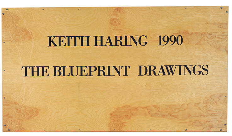 Keith haring the blueprint drawings deconstructed christies keith harings real education in artistic expression began on the streets of new york city famously the gritty subway system provided an inspiration malvernweather Images