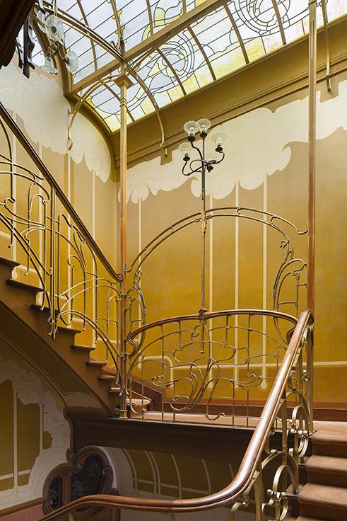 Art nouveau art deco an architectural odyssey in for Architecture art deco