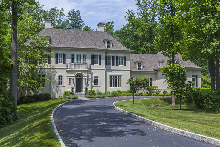 Luxury living château style in the us