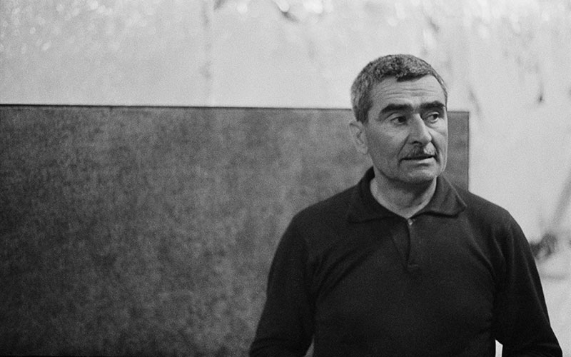 Alberto Burri: 'Artist, poet,