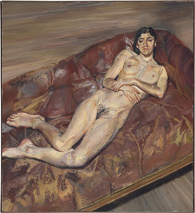 Lucian freud nudes