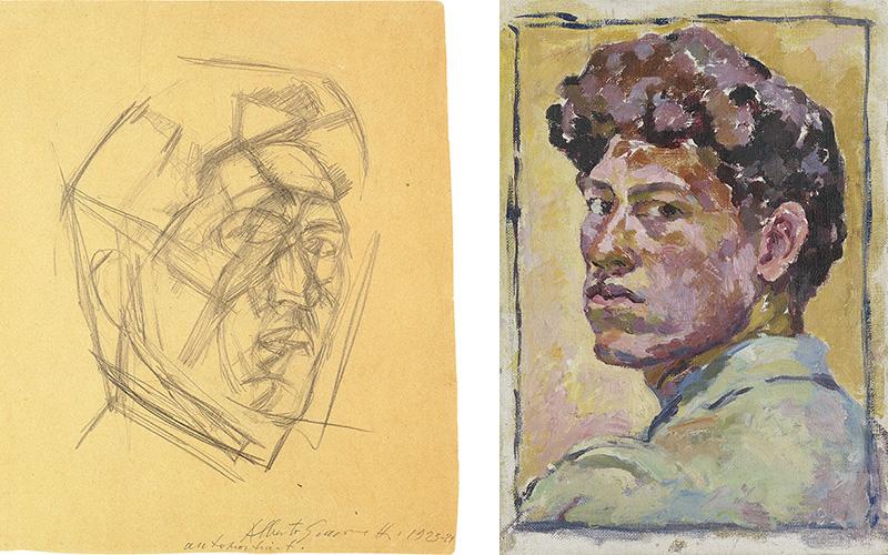 The 'double life' of Alberto Giacometti