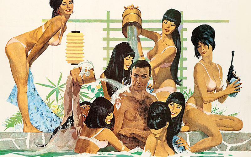 Everything you ever needed to know about vintage James Bond film posters (and possibly a good deal more)