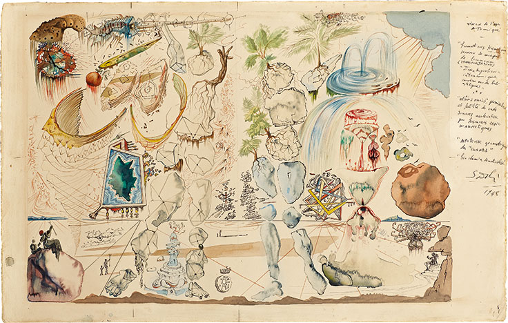 salvador dali influences The 1930's saw dali's biggest boom in terms salvador dalí spent between 1939 and 1948 in the united states and his art began artistic styles and influences.